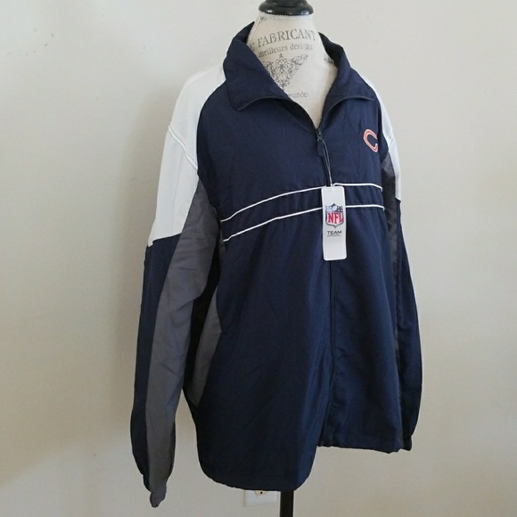 finest selection 2a89f 6afe9 Chicago Bears NFL Windbreaker NWT
